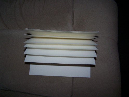 Just fold your cardstock in half