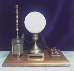 Steampunk device, aetheric fluctuation indicator