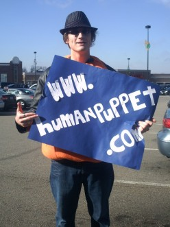 Who is The Human Puppet?