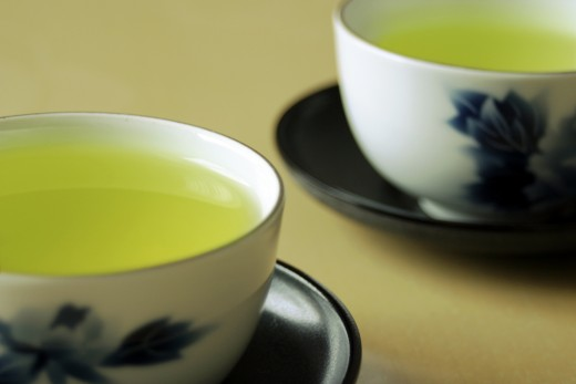 Powerful antioxidant green tea