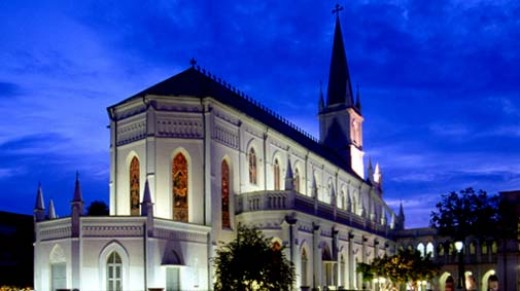CHIJMES - Singapore National Heritage