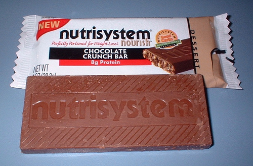Nutrisystem diet chocolate bar Photo credit: Size8jeans @flickr