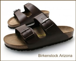 Birkenstock Brown Leather Sandals