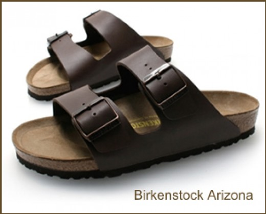 Birkenstock Brown Leather Sandals