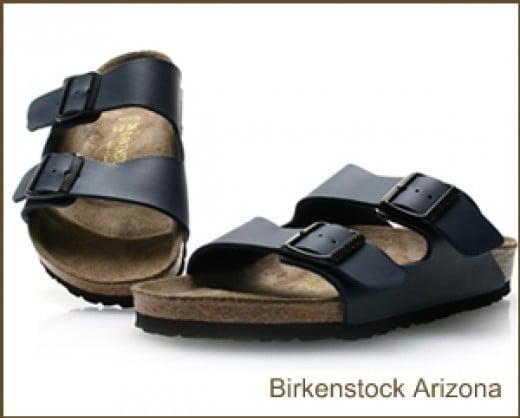 Birkenstock Black leather sandals