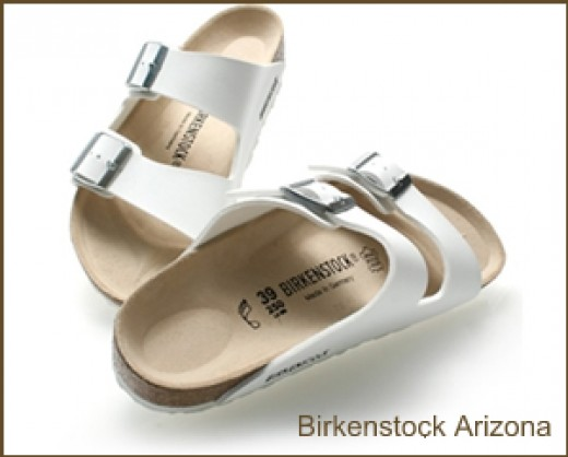 Birkenstock Arizona White Sandals