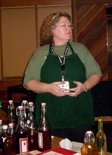 Madison Herb Society Herb Fair - cordial presentation