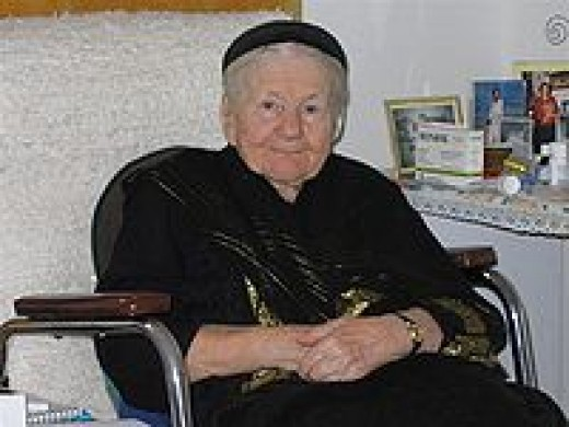 Irena Sendler as she looked in 2008.