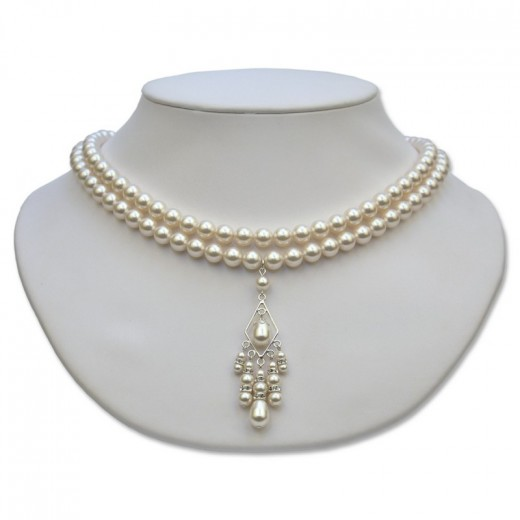 The best thing to do with your bridal jewelry after the wedding is to wear it!