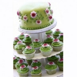 Cupcakes look amazing, but cost more than a cake!