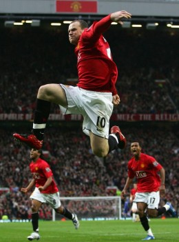 Rooney on form and showing his agility