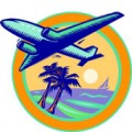 Choose a credit card that offers double frequent-flier miles!