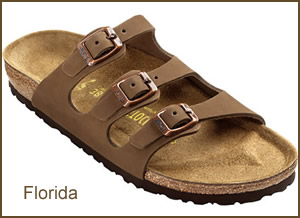Birkenstock sandals for women with a great secure fit and feminine style