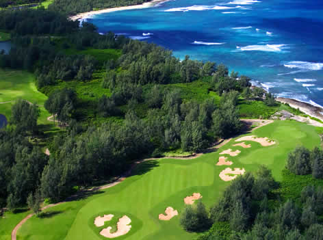 Turtle Bay Golf Course, Oahu, Hawaii
