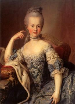 Maria Antonia, the young princess ~ an impulsive ingenue.