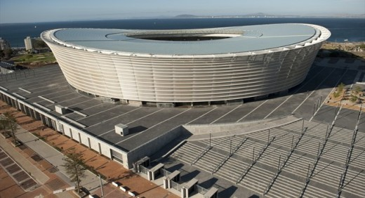 The Green Point Stadium or Cape Town Stadium