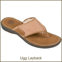 Womens Ugg Sandals - Sheepskin sandals for summer comfort