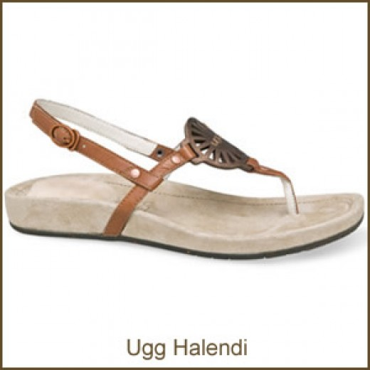 The Ugg Halendi - lacking in skeepskin,but an Ugg none the less