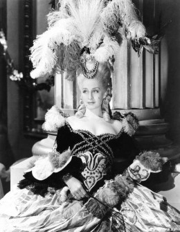 The 1930's actress, Norma Shearer as Marie Antionette.