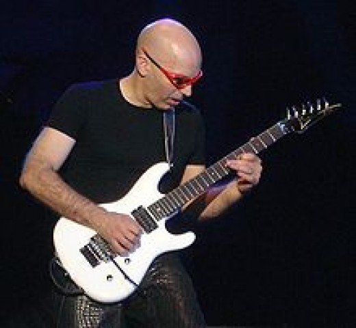 Joe Satriani, photo credit: wikipedia.com