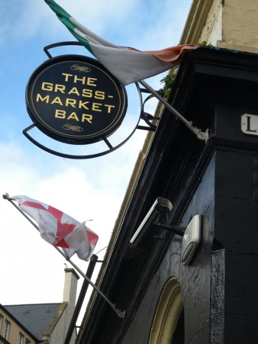 Grass Market was the first pub where we tried ale.