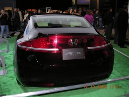 As you can see by the date on this photo, the Honda hybrid hydrogen concept car has been around since 2007.