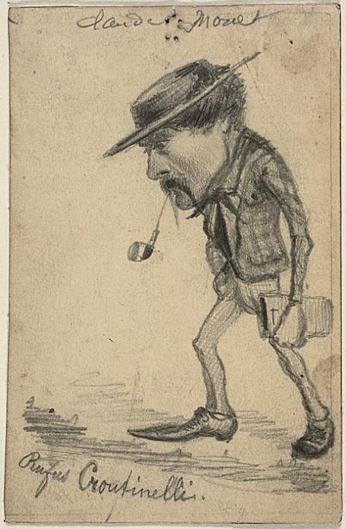 CARICATURE OF HENRI CASSINELLI (1858)