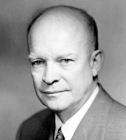 President Dwight D. Eisenhower, Republican