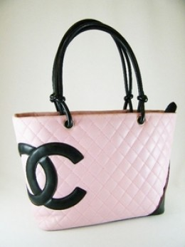 Chanel Ligne Cambon Tote Bag in Pink