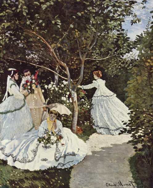 WOMEN IN THE GARDEN