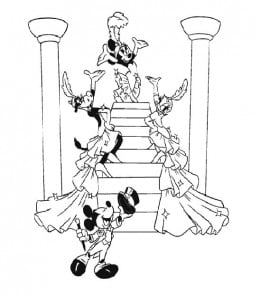 Mickey Mouse Clubhouse Kids Coloring Pages Free Colouring Pictures to Print