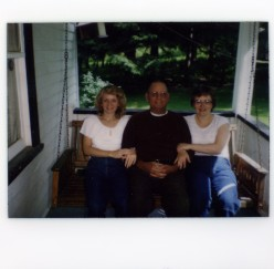 Aunt Georgie, Grandpa Ed and Mom