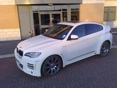 BMW X6 body kit from Prestige