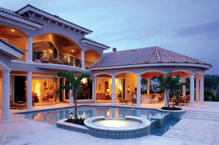 Blueprints Of Luxury Dream Homes (Best Selling House Plans On-Line