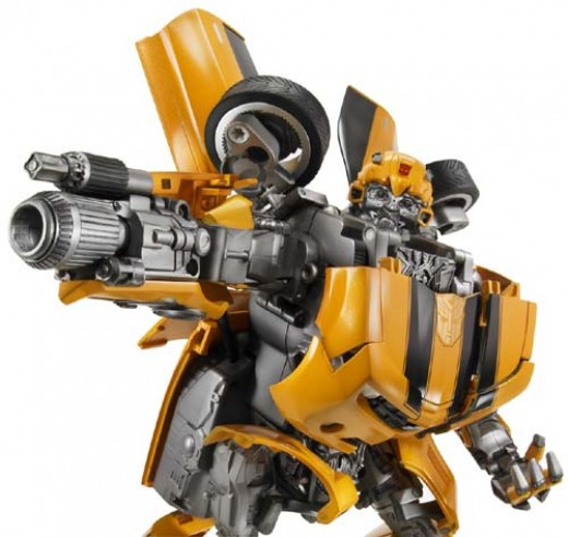 Ultimate Bumblebee for the 2007 movie from Hasbro. Source: Flickr, Gadget Virtuoso