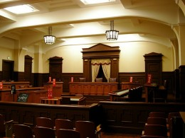 If you don't show up in court, you'll get a default judgment.