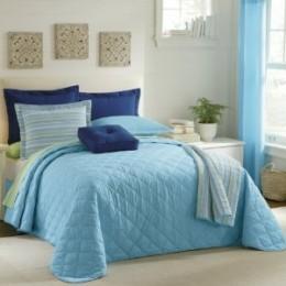 Aqua Bedspread
