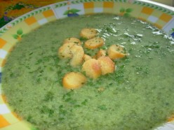 German Bavarian Herb Soup
