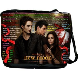 Twilight Laptop Messenger Bag