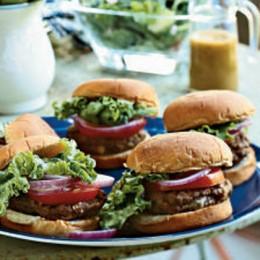 Enjoy a tasty burger