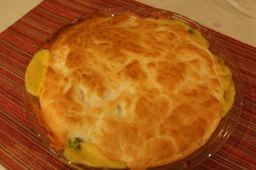 Bisquick crust chicken pot pie