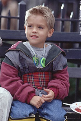 "Actor Dylan/Cole Sprouse in ""Big Daddy"""