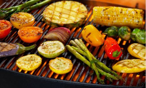 Grilled vegetables are delicious and contain no cancer-causing ingredients.