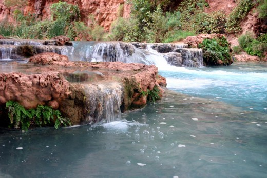 Havasu Creek Downstream From Havasu Falls