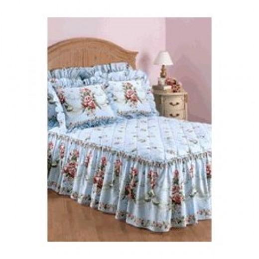 Rose bedspread