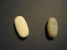Divalproex ER (left) and Depakote ER (right)
