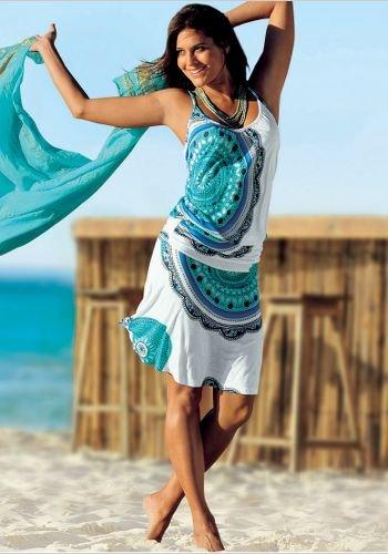 2 Piece Look Beach Dress