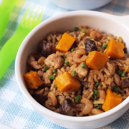 Pumpkin rice - best for preventing colon cancer