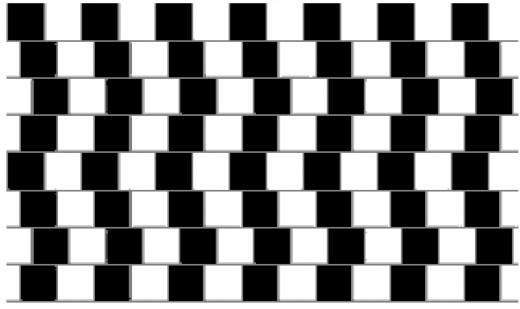 Illusion - are the lines straight?