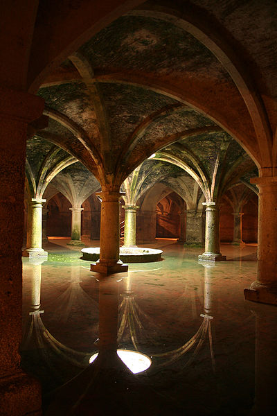 Manueline Cistern of the fortress of El Jadida in Morocco